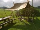 Erster Hock Hölzlehütte